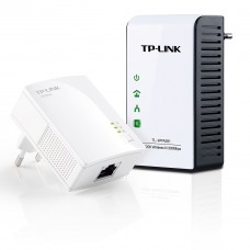TL-WPA281KIT آداپتور  AV200 بیسیم Powerline Extender Starter Kit سری N با سرعت 300Mbs